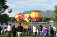 The Colorado Balloon Classic comes around each Labor Day weekend
