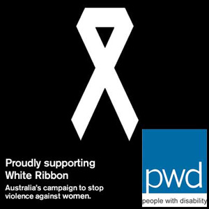Proudly supporting the White Ribbon Campaign