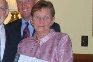 Photo of Judy James at an Investiture at Government House, Brisbane QLD